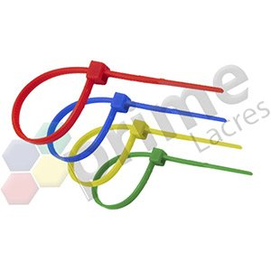Abraçadeiras Plásticas Coloridas
